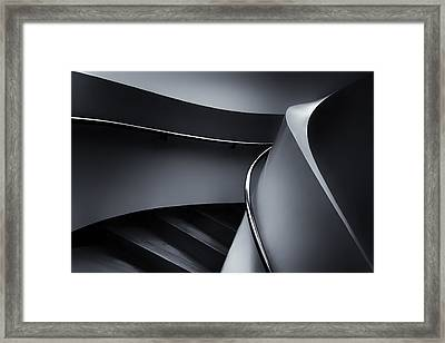 Swinging Up Framed Print by Gerard Jonkman