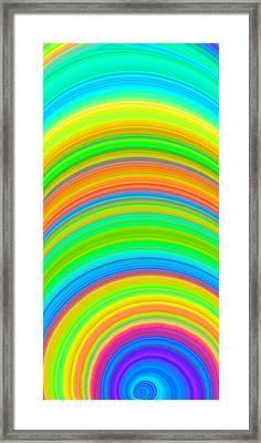 Swirl 2 Framed Print by Chris Butler