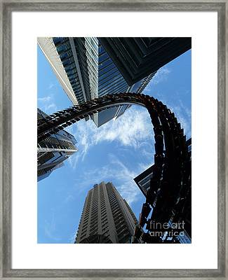 Swirl 2 Framed Print by Elizabeth McPhee
