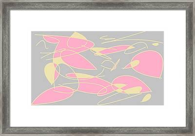 Swirl 3 Framed Print