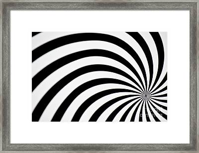 Swirl Framed Print by Angela Doelling AD DESIGN Photo and PhotoArt