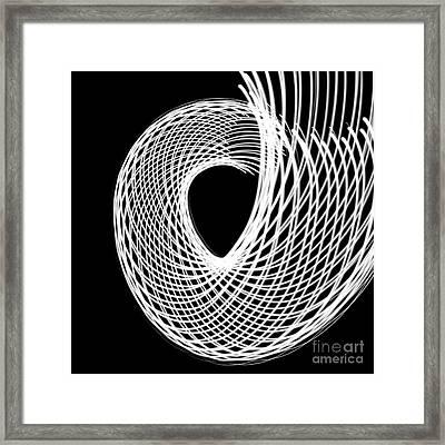 Swirl Framed Print
