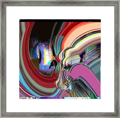 Swirl Framed Print by Dave Kwinter