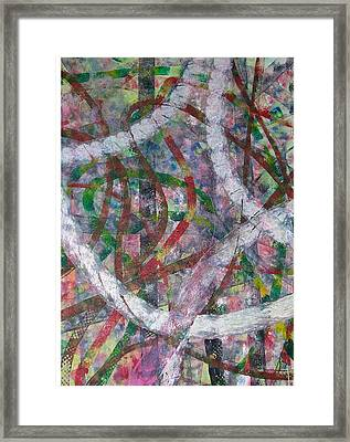 Swirl I Framed Print by Russell Simmons