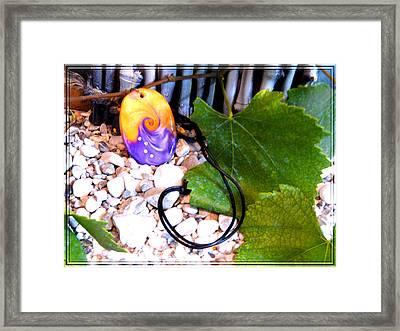 Swirl In Nature 2 Framed Print by Chara Giakoumaki