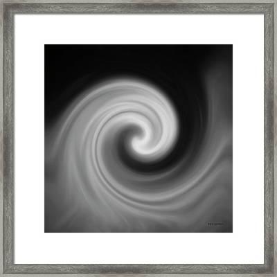 Swirl Wave II Framed Print by David Gordon