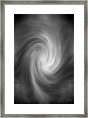 Swirl Wave Iv Framed Print