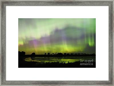Framed Print featuring the photograph Swirling Curtains 2 by Larry Ricker