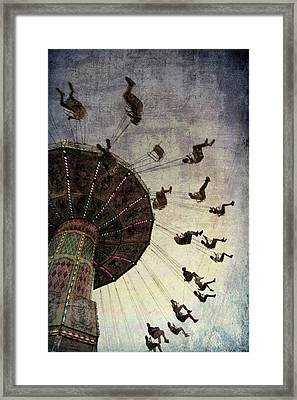 Framed Print featuring the photograph Swirling.... by Russell Styles