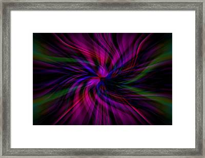 Swirls Framed Print by Cherie Duran