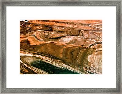 Swirls Framed Print