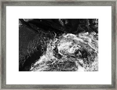 Swirly Framed Print by Christi Kraft