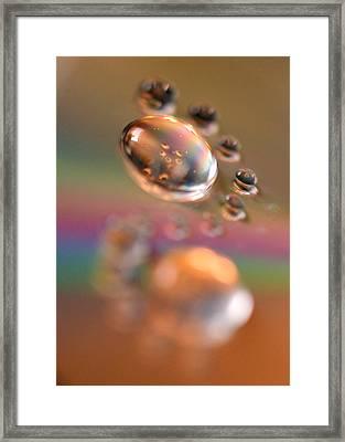Swirly Framed Print by Lisa Knechtel