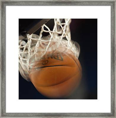 Swish Framed Print