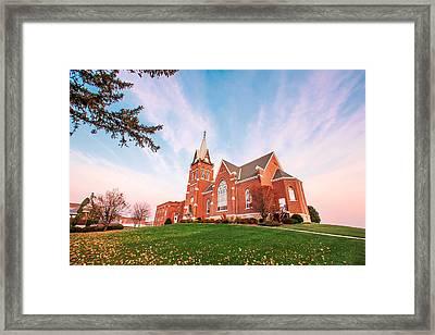 Swiss Church Framed Print by Todd Klassy