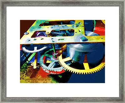 Swiss Movement Framed Print by Dominic Piperata