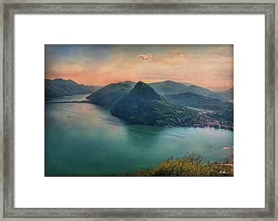 Framed Print featuring the photograph Swiss Rio by Hanny Heim