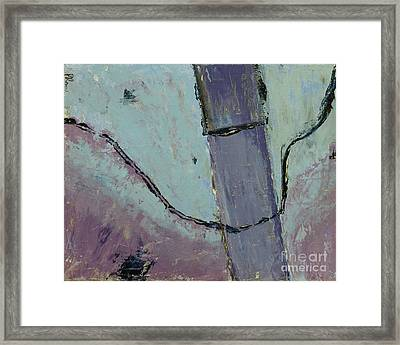 Framed Print featuring the painting Swiss Roof by Paul McKey