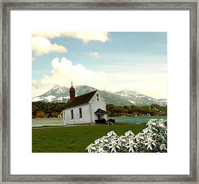 Swiss Spring Version 3 Framed Print by Chuck Shafer