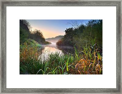 Swiss Valley Reservoir Framed Print
