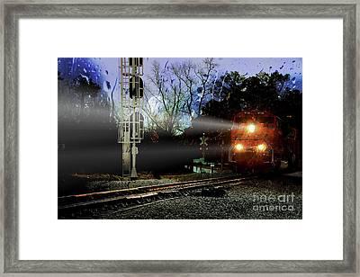 Switch Hitter Framed Print