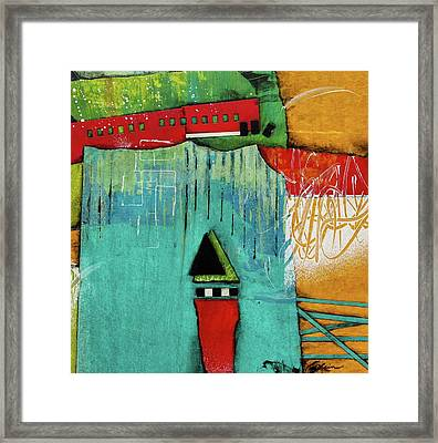 Switch It Up Framed Print