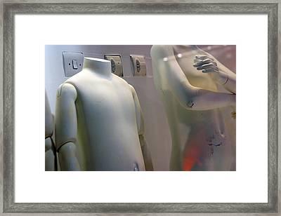 Switch Me On Framed Print by Jez C Self