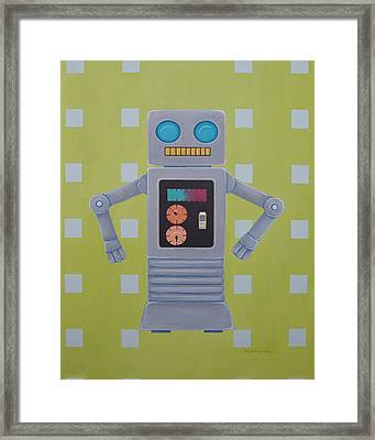 Switch Framed Print by Ramey Guerra