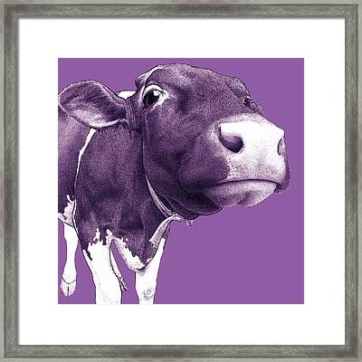 Switchback Abby Framed Print by Lorraine Zaloom