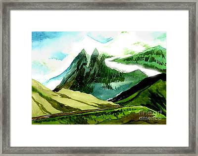 Switzerland Framed Print by Anil Nene