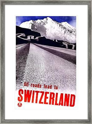 Switzerland Framed Print