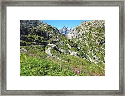 Switzerland, Grimsel Pass Framed Print by Hiroshi Higuchi