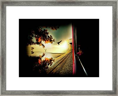 Framed Print featuring the photograph Switzerland by Lucian Capellaro