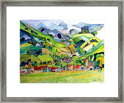 Switzerland Framed Print by Patricia Arroyo