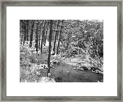 Swollen Waters Framed Print by Scott Kingery