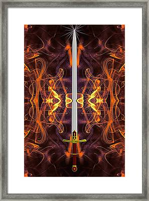 Sword Of Tomorrow Framed Print