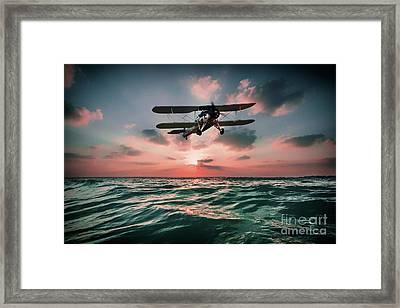 Swordfish Torpedo Bomber Framed Print