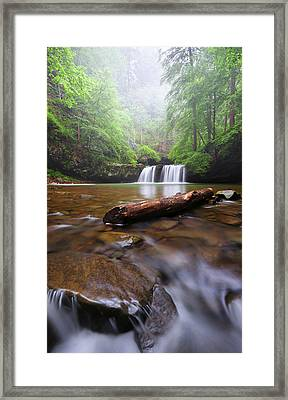 Sycamore Falls Framed Print