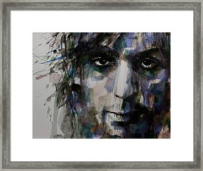 Syd Barrett Framed Print by Paul Lovering