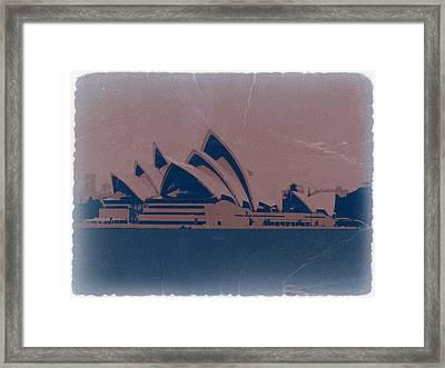 Sydney Australia Framed Print by Naxart Studio