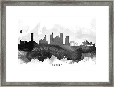 Sydney Cityscape 11 Framed Print