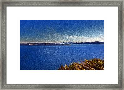 Sydney From North Head Framed Print