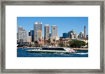 Sydney Harbour Framed Print by Niel Morley