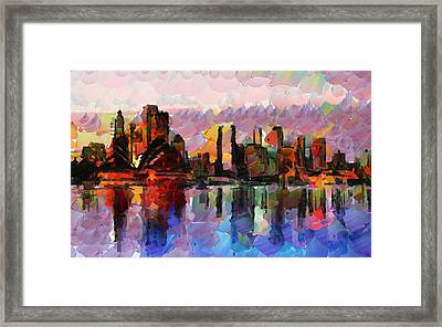 Sydney Here I Come Framed Print by Sir Josef - Social Critic -  Maha Art