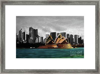 Sydney Opera House 01 Framed Print