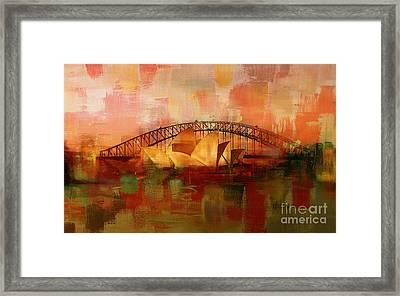 Sydney Opera House 09 Framed Print