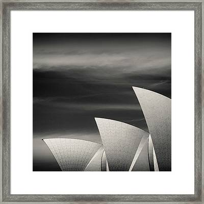 Sydney Opera House Framed Print by Dave Bowman
