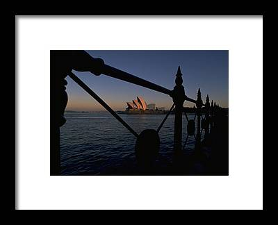 Sunset Travelpics Framed Prints
