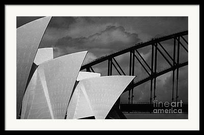 Opera House Framed Prints