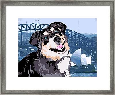Sydney Framed Print by Sarah Crumpler